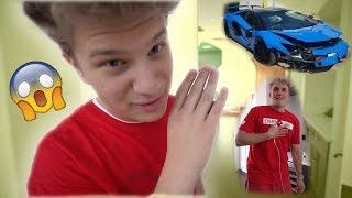 I Crashed Jake Paul's Lamborghini **PRANK**