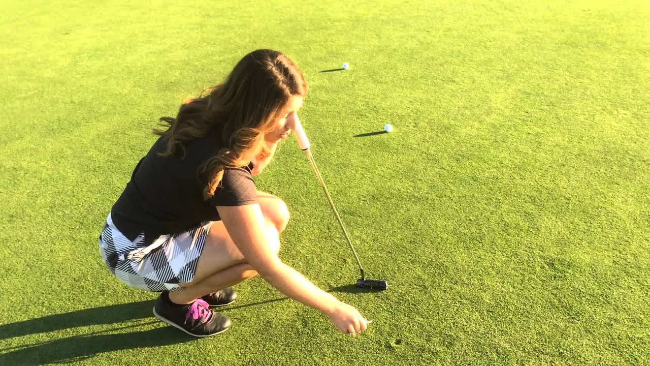 how to fix a ball mark