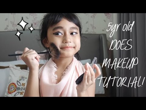 TODDLER TOOK OVER MY CHANNEL! Baby Girl Makeup Tutorial by Queenta Zedisha Avega