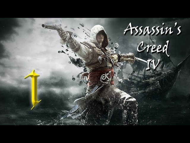Assassin's Creed IV: Black Flag CZ - PS3 - Part 1 - CrazyElders - Let's Play / Gameplay SK