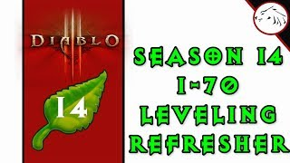 Diablo 3 Season 14 Leveling Refresher - Tips For Leveling 1 to 70 With Speed & Efficiency