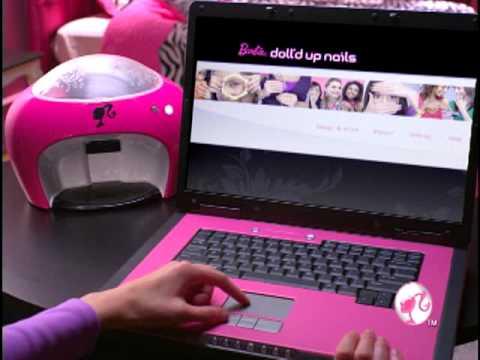 Barbie Nail Design Machine