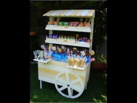 stralight sugar pop carritos para dulces y mesas de dulces - YouTube