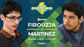 2019 Junior Speed Chess Championship: Alireza Firouzja vs. Jose Martinez