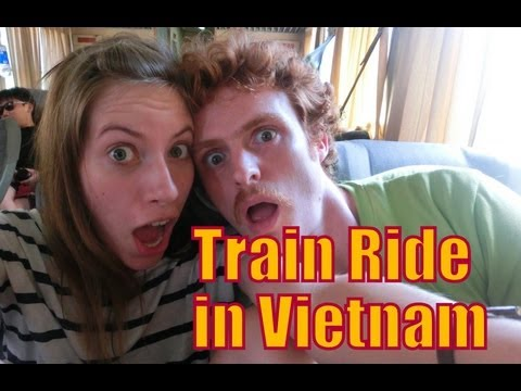 Train Ride in Vietnam | Ho Chi Minh City (Saigon) to Nha Trang Train Route Transportation Journey