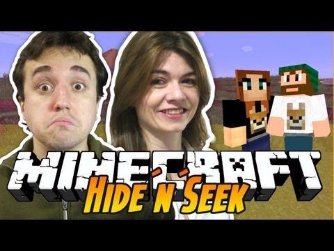 Minecraft - Hide N Seek: A NILCE VAI ME ACHAR!?!?