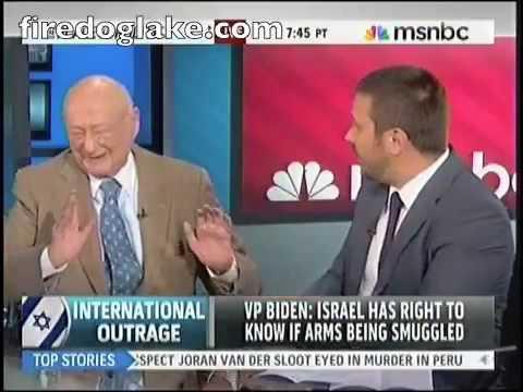 Attack on Gaza aid flotilla - Jeremy Scahill debates Ed Koch