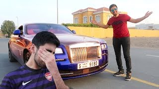 ROLLS ROYCE PRANK *BROTHER CRIED*