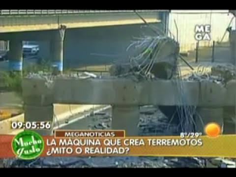 28 sept.- Maquina que crea Terremotos