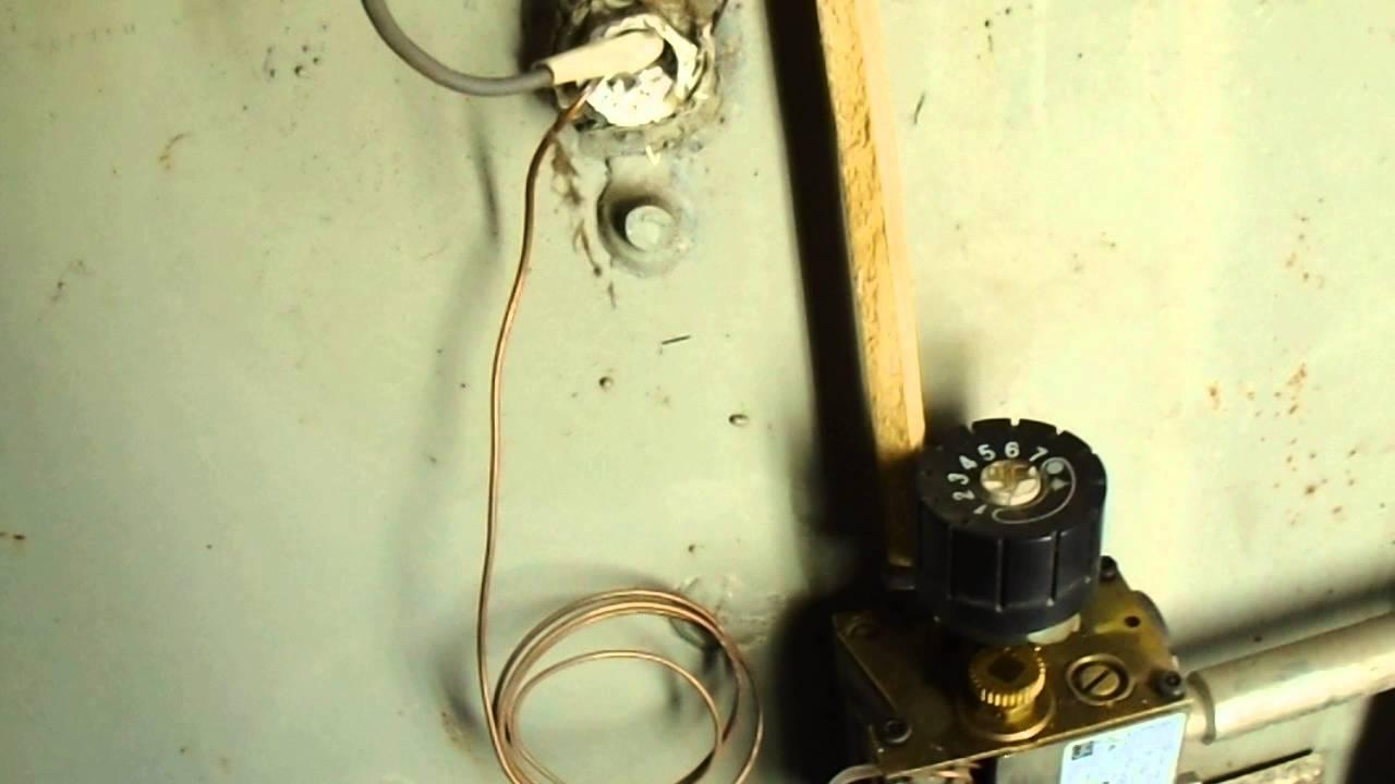 Ремонт термопары газового котла