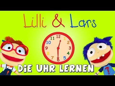 Die Uhr Lernen Für Kleinkinder - Lernvideo Für Kinder - Uhrzeiten Lernen Mit Lilli Und Lars
