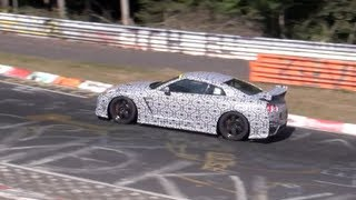 Incredible POWER! 2014 Nissan GT-R  NISMO tested on the Nürburgring Nordschleife!