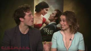 Cinemark Interview with Sam Claflin and Emilia Clarke