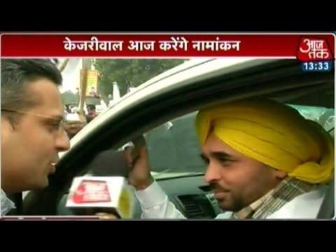 Only Kejriwal is 'kiran' of hope for Delhi: AAP leader Bhagwant Mann