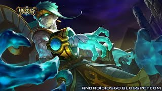 Heroes Evolved: New Skin - Mummy King Phobos Gameplay Android/iOS