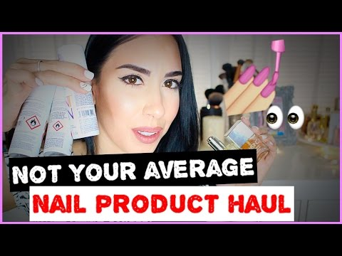 How To Grow LONG NAILS Nail Haul!!! NOT Your Average Products!!!