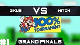 Zikubi vs Mitchflowerpower   Grand Finals Race 1   GSA SMB3 100% Speedrun Tournament Spring 2019