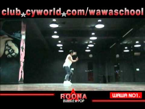 Wawa Dance Academy Hyuna Bubble Pop Dance Step Mirrored Mode video