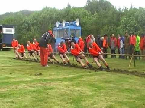 2012 National Outdoor Tug of War Champs - Men 640 Kilos Final - Second End