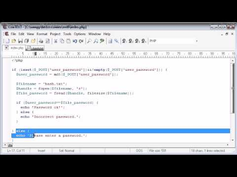 Beginner PHP Tutorial - 97 - MD5 Encryption Part 2