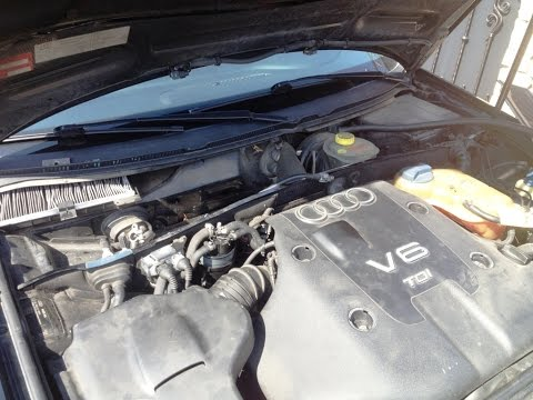Audi A6 Battery Replacement - How To Remove Battery From Audi A6