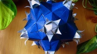 Origami  Sonnette  Kusudama