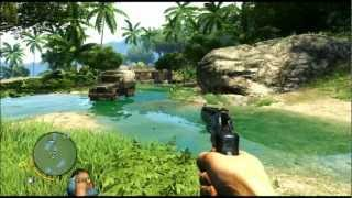 Far Cry 3 - PS3 Gameplay: Hunting, Driving, Gathering, Crafting, Combat and Death