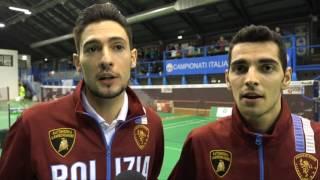 CAMPIONATI ITALIANI ASSOLUTI 2017 - I FINALISTI NEL DOPPIO MASCHILE