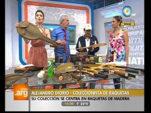 Vivo en Argentina - Deportes: Coleccionista de raquetas - 15-12-11