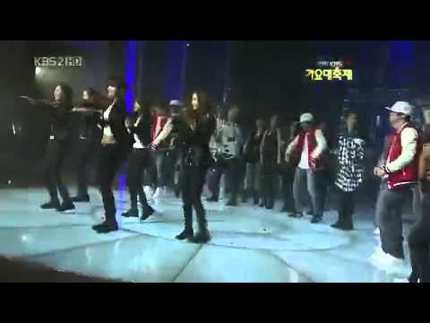 SNSD - Rhythm Nation Dance @ Gayo Daejun 2009 Music Videos