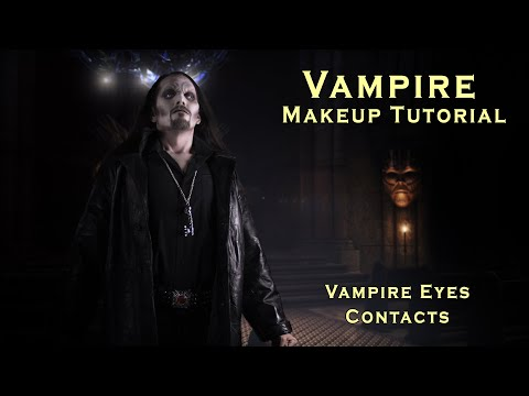 Vampire Makeup How-to, Dark Vampire Halloween Makeup Tutorial