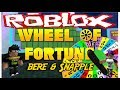 Roblox: Wheel of Fortune w/Snapple(Daughter)