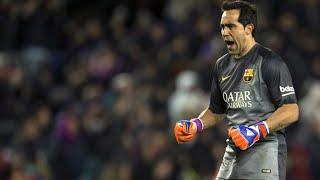Claudio Bravo - FC Barcelona - Best Saves - 2014/15 HD