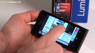 Nokia Lumia 800 - bedste Nokia i flere r