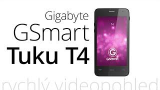 Gigabyte GSmart Tuku T4 (rychlý videopohled)