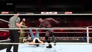 WWE 2K15 The primetime players vs erik rowan and luke harper