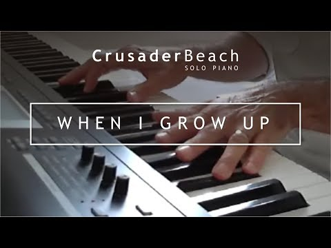 Happy Instrumental Piano Background Music | Crusaderbeach - When I Grow Up video