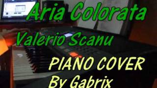 Aria Colorata - Valerio Scanu PIANO COVER (by gabrix)