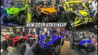 New 2019 SXS/UTV Lineup - Reviews + Walkarounds - Polaris, Yamaha, Can-Am, Kawasaki, Textron, Honda