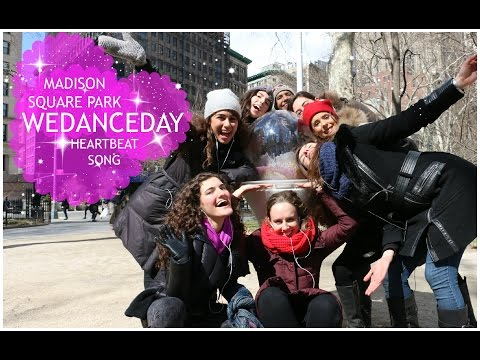 Kelly Clarkson - Heartbeat Song #wedanceday  Madison Square Park video