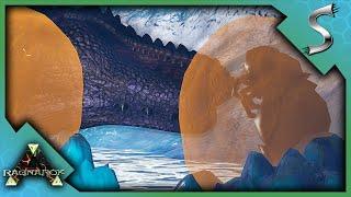 ICE QUEEN BOSS DEFEATED! SHE FEEDS GIGAS TO HER BABIES! - Ark: RAGNAROK [DLC Gameplay E39]