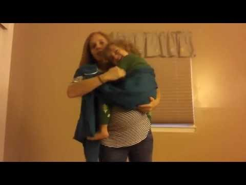 Ring Sling with a Toddler