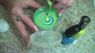 How To :: Water Marble