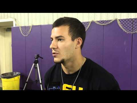 LSU PK Colby Delahoussaye on his game-winning FG vs. Florida