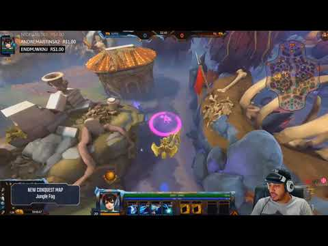 SMITE SEASON 5 CONQUEST MAP - FIRST LOOK