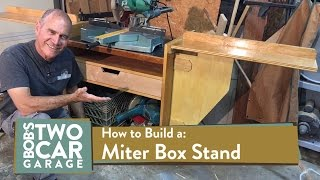 How to Build a Miter Box Stand