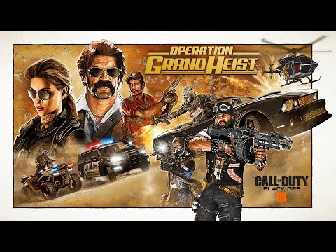 Official Call of Duty®: Black Ops 4 – Operation Grand Heist Studio Livestream
