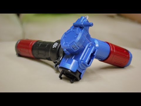 Beyblade ZeroG String Launcher (BBG-19) Unboxing & Review - VERY CUSTOMIZABLE!