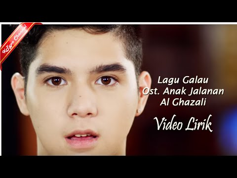 Al Ghazali - Lagu Galau Ost  Anak Jalanan  (Accoustic Karaoke) Video Lirik By Ktypo Channel