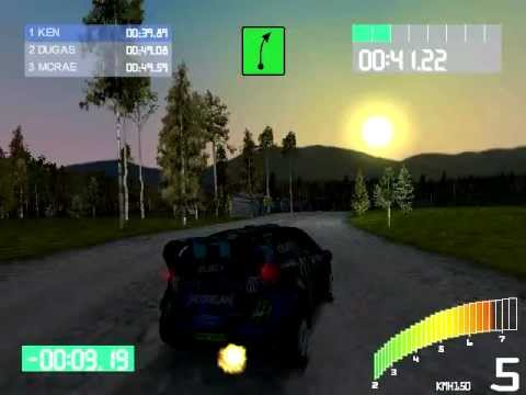 DRIFT77 - Ken Block Gymkhana 6 Ford Fiesta (Livery 2013) - Colin Mcrae Rally 2 mod (MF)